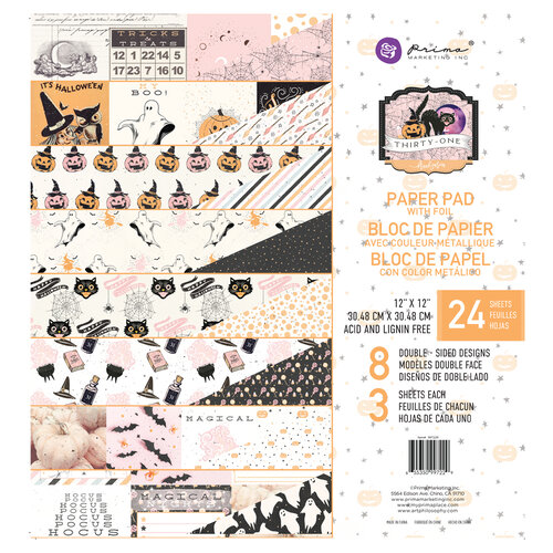 Prima - Thirty-One Collection - 12 x 12 Paper Pad