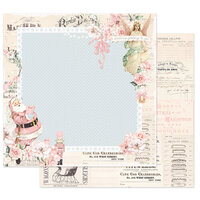Prima - Christmas Sparkle Collection - 12 x 12 Double Sided Paper - Winter Sparkle