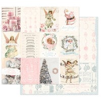 Prima - Christmas Sparkle Collection - 12 x 12 Double Sided Paper - Magical Holiday