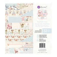 Prima - Christmas Sparkle Collection - 8 x 8 Paper Pad