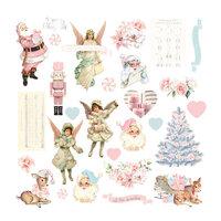 Prima - Christmas Sparkle Collection - Ephemera - Set 02
