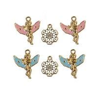 Prima - Christmas Sparkle Collection - Metal Embellishments - Sparkle Charms