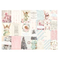 Prima - Christmas Sparkle Collection - Rice Paper