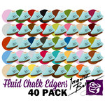 Prima - Fluid Chalk Inkpads Kit - 40 Piece Set