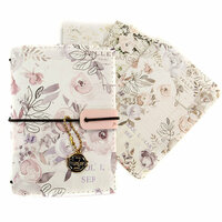 Prima - My Prima Planner Collection - Passport Travelers Journal - Lavender Frost Bundle