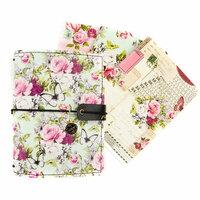 Prima - My Prima Planner Collection - Passport Travelers Journal - Misty Rose Bundle