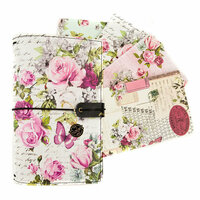Prima - My Prima Planner Collection - Personal Travelers Journal - Misty Rose Bundle