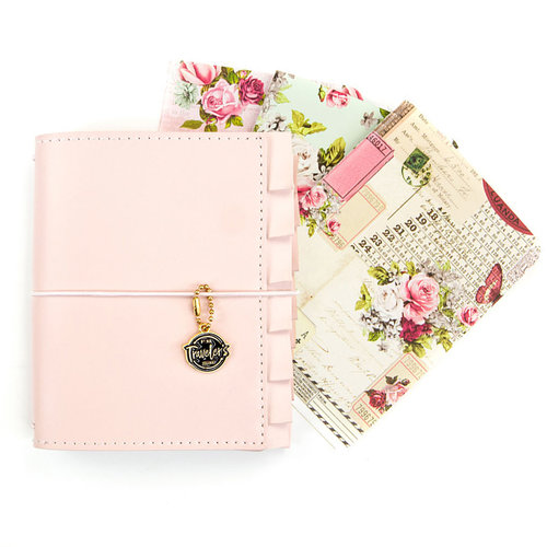 Prima - My Prima Planner Collection - Passport Travelers Journal - Sophie Misty Rose Bundle