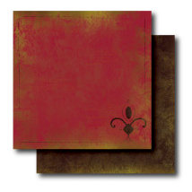 Paper Trunk - Batik Collection - 12 x 12 Double Sided Paper - Exquisite, CLEARANCE