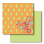 Paper Trunk - 1974 Collection - 12 x 12 Double Sided Paper - Cool Jive, CLEARANCE