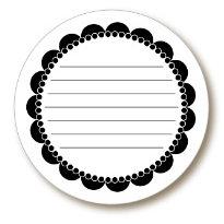 Paper Trunk - Jots Journaling Pieces - Black, CLEARANCE