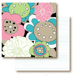 Paper Trunk - Jellybean Collection - 12 x 12 Double Sided Paper - Cream Soda, CLEARANCE