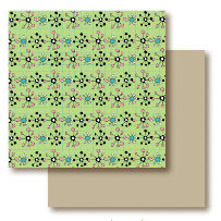 Paper Trunk - Jellybean Collection - 12 x 12 Double Sided Paper - Caramel Apple, CLEARANCE