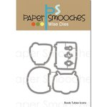 Paper Smooches - Dies - Boob Tubes Icons