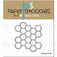 Paper Smooches Honeycomb Dies