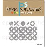Paper Smooches - Dies - Lattice