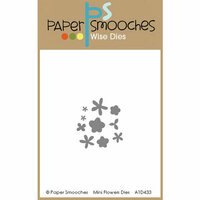 Paper Smooches - Dies - Mini Flowers