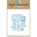 Paper Smooches - Dies - Rosy Posy Icons