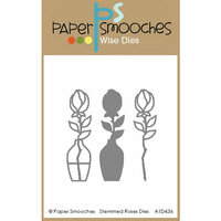 Paper Smooches - Dies - Stemmed Rose
