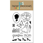 Paper Smooches - Clear Acrylic Stamps - Pretty Momma
