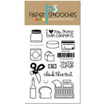 Paper Smooches - Clear Acrylic Stamps - Market Fresh