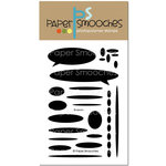 Paper Smooches - Clear Acrylic Stamps - Shadows