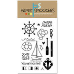 Paper Smooches - Clear Acrylic Stamps - Wicked Nauticool