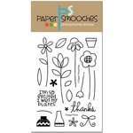 Paper Smooches - Clear Acrylic Stamps - Twiggy Florets