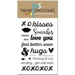 Paper Smooches - Clear Acrylic Stamps - Smooches