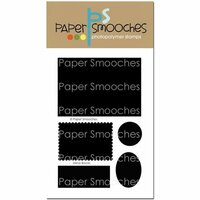 Paper Smooches - Clear Acrylic Stamps - Mirror Blocks