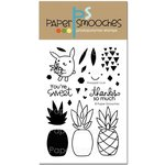 Paper Smooches - Clear Acrylic Stamps - Pineapple Crush