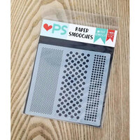 Paper Smooches - Stencils - Hot Dot