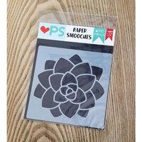 Paper Smooches - Stencils - Succulent