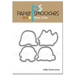 Paper Smooches - Dies - Chilly Chums Icons