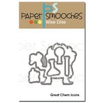 Paper Smooches - Dies - Great Chem Icons