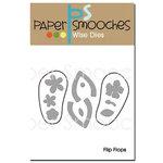 Paper Smooches - Dies - Flip Flops