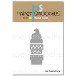 Paper Smooches - Dies - Ice Cream Cone