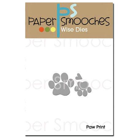 Paper Smooches - Dies - Paw Print