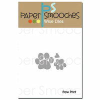 Paper Smooches - Dies - Paw Print