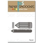 Paper Smooches - Dies - Pencil