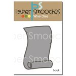 Paper Smooches - Dies - Scroll