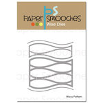 Paper Smooches - Dies - Wavy Pattern