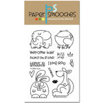 Paper Smooches - Clear Acrylic Stamps - A Little Lovin