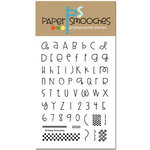 Paper Smooches - Clear Acrylic Stamps - Alphadot