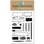 Paper Smooches - Clear Acrylic Stamps - Fascinators