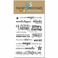 Paper Smooches - Clear Acrylic Stamps - Magical Sampler