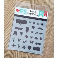 Paper Smooches - Stencils - Planner