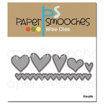 Paper Smooches - Dies - Hearts