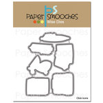 Paper Smooches - Dies - Click Icons
