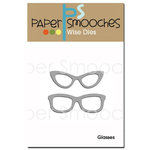 Paper Smooches Glasses Dies